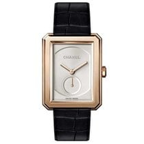 Chanel Rose gold Manual winding Silver 28.6mm new Boy-Friend
