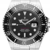 Rolex Sea-Dweller 4000 Stahl Keramik Automatik 43mm Ref.126600...