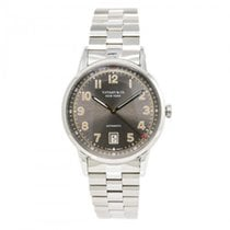 蒂凡尼 & Co Ct60 3-hand 34668272 Mens Automatic Watch Grey Dail...