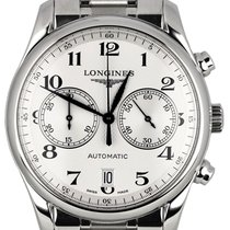 Longines Master Chronograph Automatic 40mm Stainless Steel...