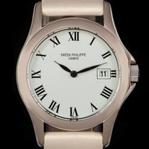 Patek Philippe pre-owned Quartz 27mm White gold Sapphire Glass