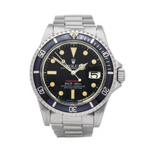 Rolex Submariner Single Red Stainless Steel Men's 1680 - W5348