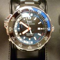 IWC Aquatimer Deep Two Acier 46mm Noir Sans chiffres