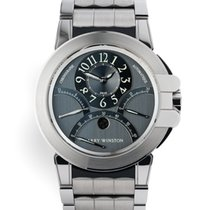 Harry Winston Chronograph 44mm Automatic 2007 pre-owned Ocean Grey
