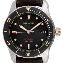 Bremont Chronometer 40mm Automatic 2017 pre-owned Supermarine Black