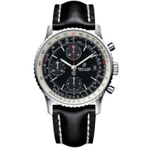 Breitling Navitimer Heritage Steel 41,00mm Black No numerals United Kingdom, or EU warehouse (see description)