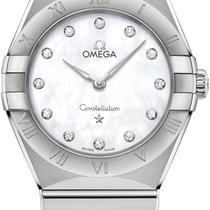 Omega 131.10.28.60.55.001 Сталь 2021 Constellation Quartz 28mm новые