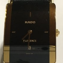 Rado Florence pre-owned 24mm Black Date Leather
