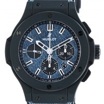 Hublot Big Bang Jeans pre-owned 44mm Date Rubber