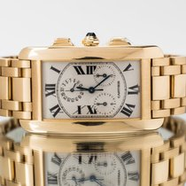 Cartier Tank Américaine Yellow gold Silver Roman numerals United Kingdom, Essex