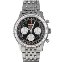 Breitling Navitimer 01 pre-owned 43mm Black Chronograph Steel