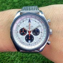 Breitling Chrono-Matic 49 Stahl 49mm Silber