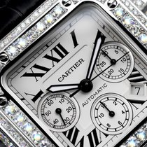 Cartier Santos 100 Steel White