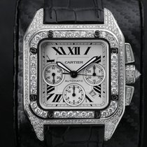 Cartier Santos 100 W20090X8 Very good Steel Automatic