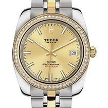 Tudor Acero y oro 28mm 22023-0011 nuevo