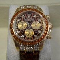 Rolex Daytona Жёлтое золото 40mm Без цифр