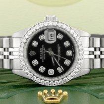 Rolex Lady-Datejust Acero 26mm Negro