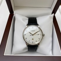 Hentschel Hamburg Steel Automatic Silver Arabic numerals 36,5mm new