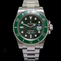 Rolex Submariner Date Steel 40mm Green No numerals United Kingdom, Macclesfield