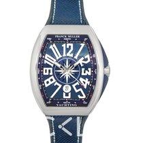Franck Muller Vanguard V45 SC DT AC BL BLUE new