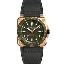 Bell & Ross BR 03 BR0392-D-G-BR/SCA 2020 new
