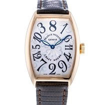 Franck Muller pre-owned Automatic 32mm Silver Sapphire crystal