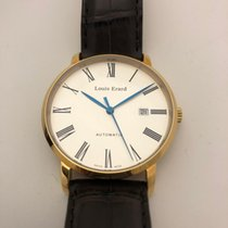 Louis Erard Yellow gold Automatic Silver Roman numerals 40mm new