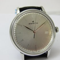 Zenith Elite 6150 Steel 42mm Silver