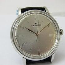 Zenith Elite 6150 Acero 42mm Plata
