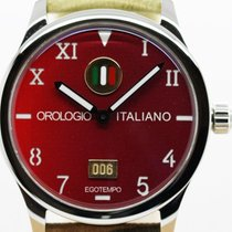 Egotempo Steel 45mm Automatic RED new