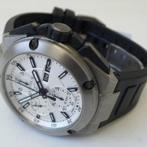 IWC Ingenieur Double Chronograph Titanium Titanio 45mm Blanco