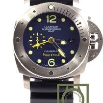 "Panerai Luminor Submersible 1950 3 Days GMT ""Pole2Pole"" NEW"