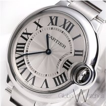 Cartier Ballon Bleu 36mm pre-owned 36mm Steel