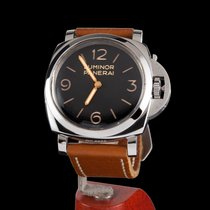 Panerai Luminor Marina 1950 3 Days pre-owned 47mm Black Leather