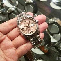 Rolex 116200 Pink Floral Modif Dial (Oyster Bracelet Datejust...