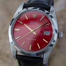 Rolex Oysterdate Precision 6694 Manual Stainless St Vintage...