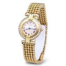 Cartier Colisee Lady Yellow Gold Diamonds Quartz 18 krt  (25 mm)