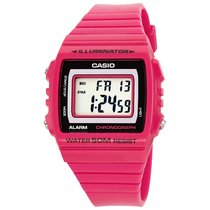 Casio Ladies W-215H-4AVEF Kids Pink Watch