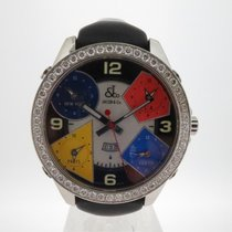 Jacob & Co. Çelik 47mm Quartz Five Time Zone ikinci el