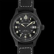 Hamilton Khaki Field Titanium Titanium 42mm Black United States of America, California, San Mateo