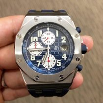 Audemars Piguet Royal Oak Offshore Chronograph Blue Themes...