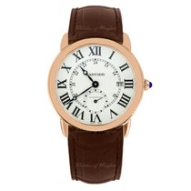 Cartier Ronde Louis Cartier Rose gold 40mm Silver United Kingdom, London