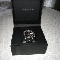 Hamilton Acier Chronographe Remontage automatique 44mm 2015 Railroad