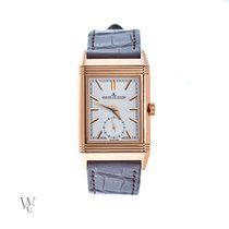 Jaeger-LeCoultre 42.9mm Manual winding 2018 new Reverso Duoface Silver