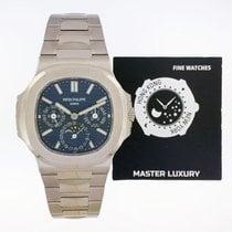 Patek Philippe 5740/1G-001 Ouro branco Nautilus 40mm