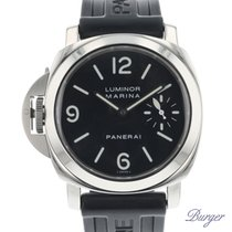 Panerai Cronómetro 44mm Cuerda manual 2004 usados Luminor Marina Negro