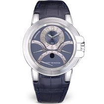 Harry Winston Chronograph 44mm Automatic pre-owned Ocean Grey