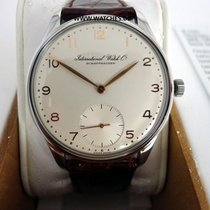 IWC Portuguese Hand-Wound pre-owned 42mm Steel