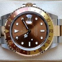롤렉스 GMT-마스터 II 16713T 매우 우수 금/스틸 40mm 자동