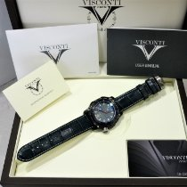 Visconti Steel 45mm Automatic KW51-02 new
